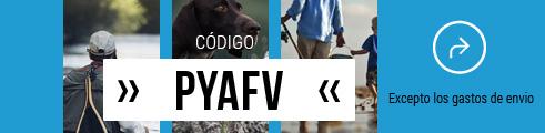 -15% en los precios azules con el código PYAFV - hasta el 19 de Octubre
