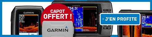 """Offre spéciale """"CAPOT OFFERT"""" sur les sondeurs couleurs CHIRP/GPS gamme STRICKER"""