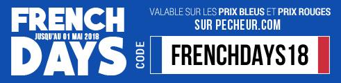 Jusqu'au 1er mai 2018: 10€ dès 75€ / 20€ dès 150€ / 40€ dès 300€ d'achats prix bleus & rouges code: FRENCHDAYS18