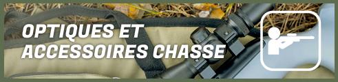 Optiques et accessoires chasse