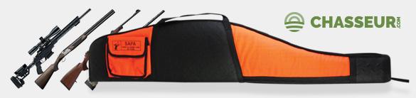 Un Fourreau SAPA Diamant Orange OFFERT pour tout achat dans vos rayons Carabines et Fusils de Chasse