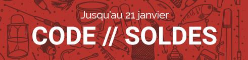 Code SOLDES : -10% même sur les promos, jusqu'au 21 janvier, code : SLDEQZP