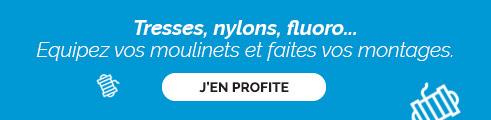 FOIRE AUX FILS ! Tresses, Nylons, Fluorocarbones… Jusqu'à -64% !