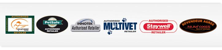 Pecheur.com, distributeur agréé des marques Petsafe, Innotek, Sportdog, Multivet, Staywell.